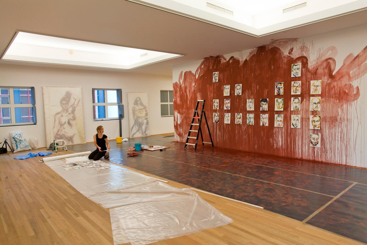 Installatie ' Quarantaine', Bonnefantenmuseum 2015